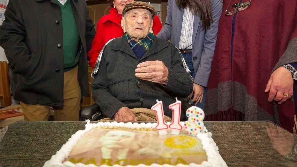 Muere en Badajoz Francisco Núñez Olivera, el hombre más longevo del mundo