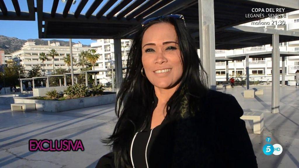 """Liz se presenta como la nueva novia de Julián Muñoz: """"Estoy amándolo y queriéndolo"""""""