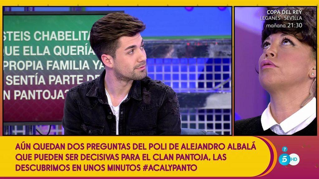 Chabelita se casó en junio de 2016 para adelantarse  a la boda de su hermano Kiko, según Alejandro Albalá