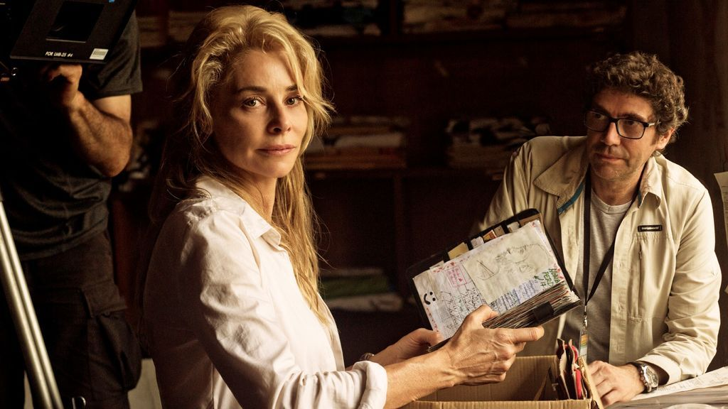 Belén Rueda y Norberto López Amado, protagonista y director de 'El cuaderno de Sara', respectivamente.