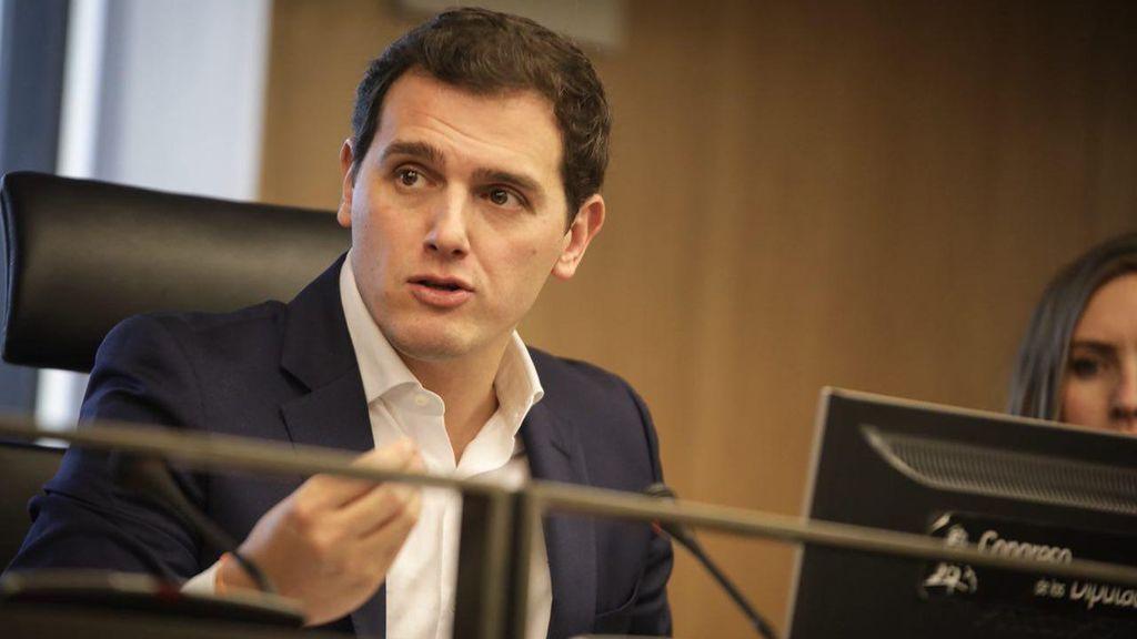 """Rivera: """"Se ha acabado el tiempo de Puigdemont, de la burla a la ley y de intentar romper España"""""""