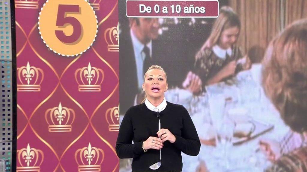 El regalo de Belén Esteban para el Rey por su 50 cumpleaños: Un ranking de sus mejores momentos