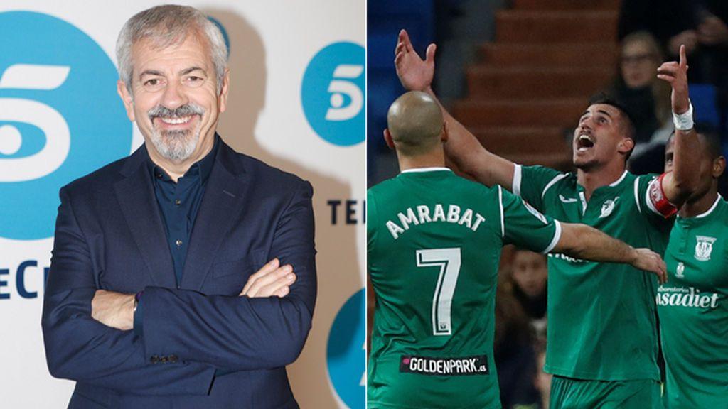 El Leganés pide ayuda a Carlos Sobera para intentar eliminar al Sevilla de la Copa