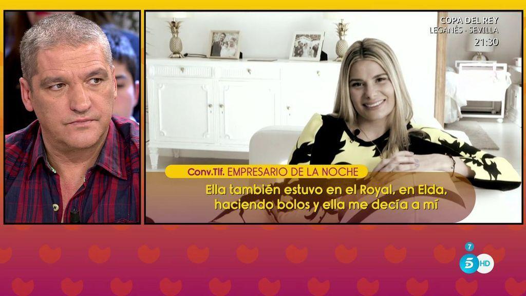 Un empresario de la noche asegura que María Lapiedra trabajaba como 'princesa'