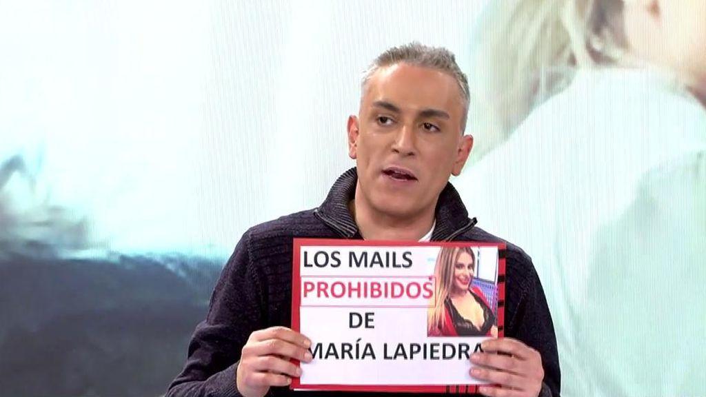 """Gustavo González lee los polémicos mails de María Lapiedra: """"Siento pena"""""""
