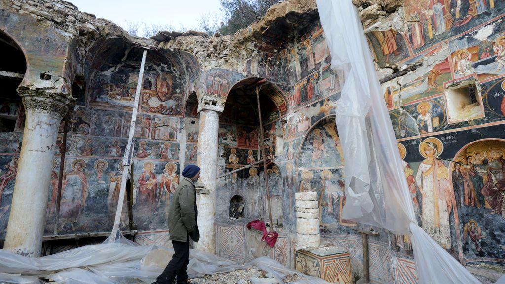 Iglesia en ruinas