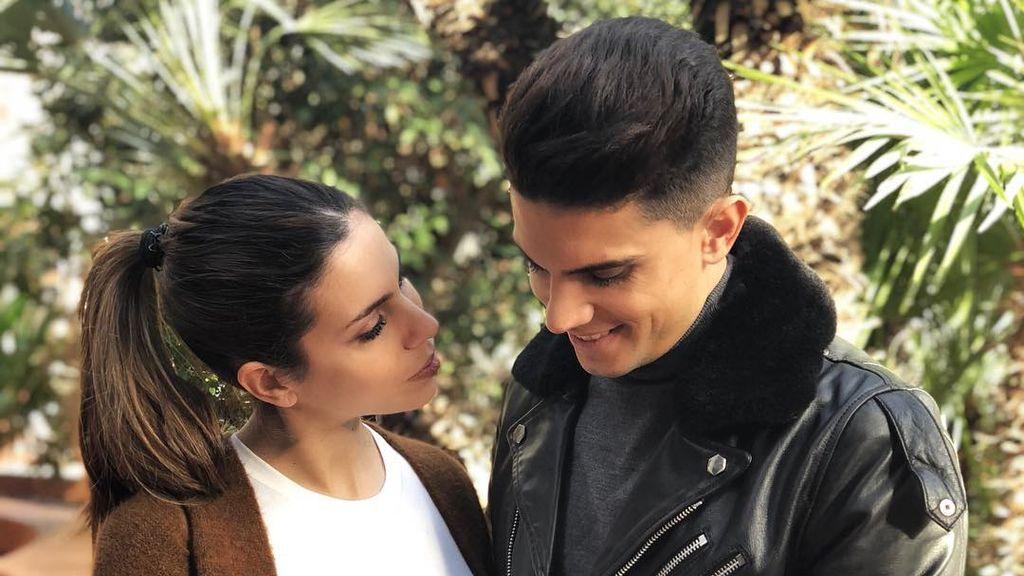 """Melissa Jiménez desea lo mejor a su pareja, Marc Bartra: """"Seguimos escribiendo nuestra historia, con otras vivencias y mucha ilusión"""""""