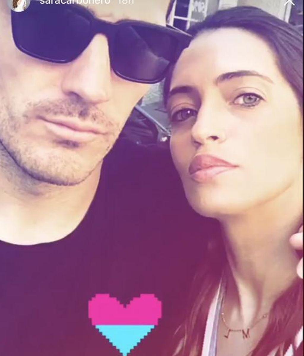 ¡Puro amor! La foto de Iker Casillas y Sara Carbonero que ha enamorado a sus seguidores