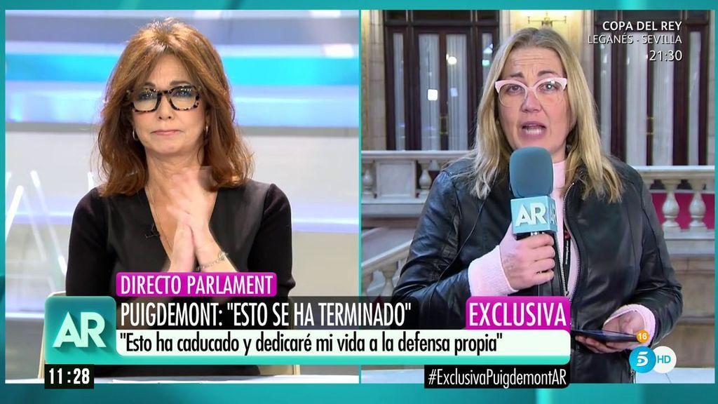 """Comín prepara una querella contra Telecinco y Ana Rosa contesta: """"Nos alegra que lo confirme"""""""