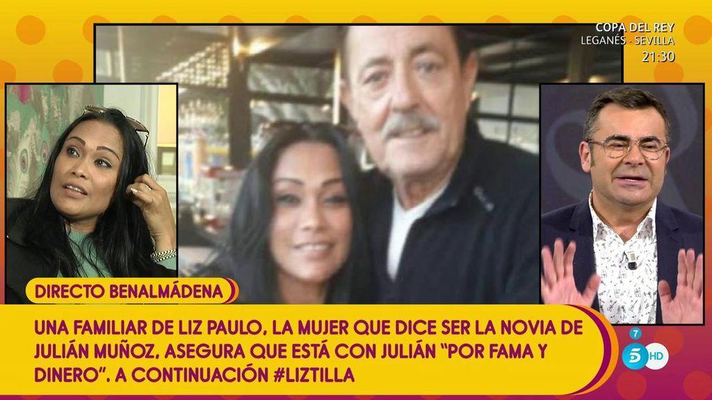 'Sálvame' desmonta el testimonio de Liz, la supuesta novia de Julián Muñoz