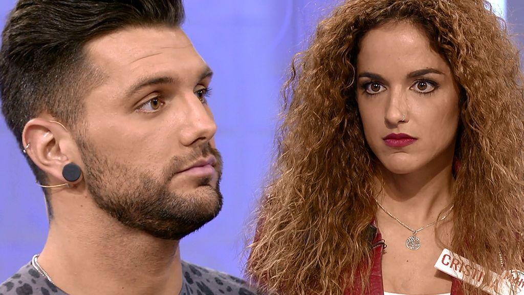 Barranco pierde las formas con Cristina: Así ha sido su mala contestación