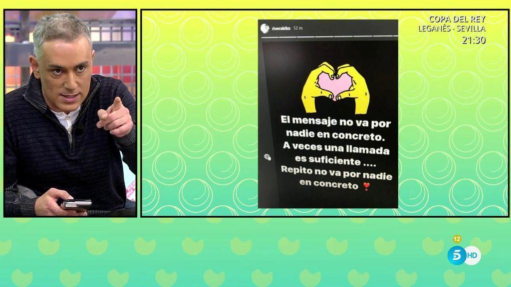Kiko Rivera lanza una pullita en redes para... ¿su hermana?