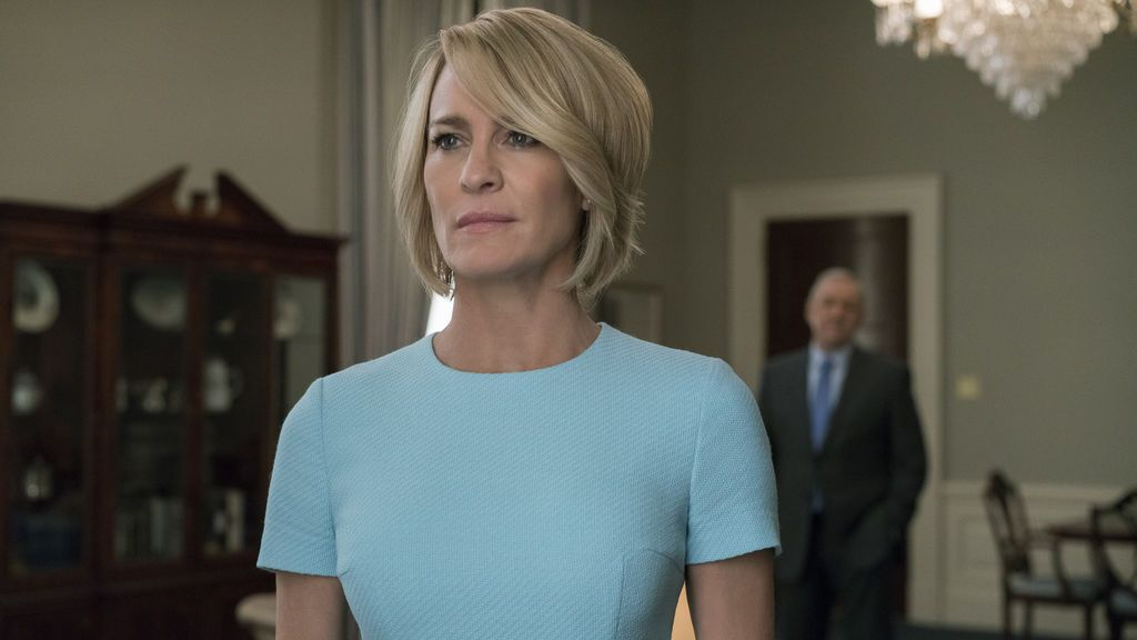 Robin Wright interpreta a Claire Underwood en 'House of cards'.