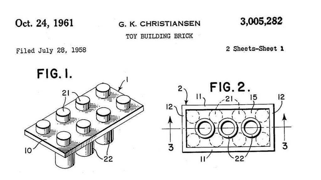 Patente Lego