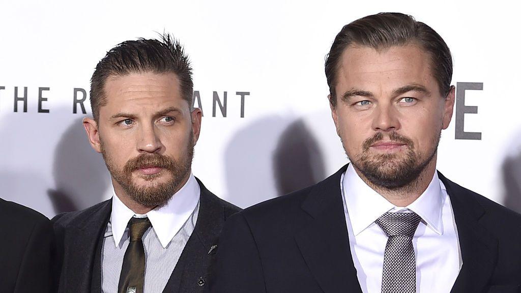 Alejandro Gonzalez Iñarritu, Tom Hardy y Leo DiCaprio