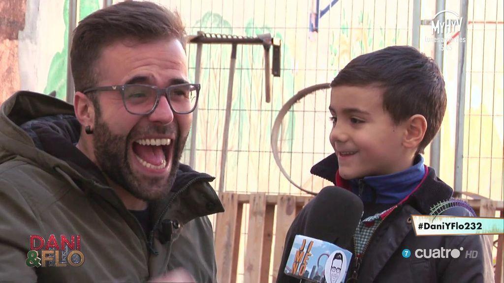 """Un niño, a Jimeno: """"Si no entiendes mi chiste es que eres cortito"""""""