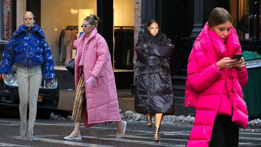 Lo último en invierno es el look puffy: ¿Cómo se lleva eso?