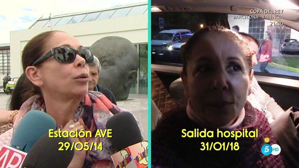 3 años y 8 meses después, Isabel Pantoja ha vuelto a hablar