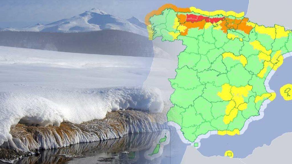 Aviso especial: Asturias, Cantabria y 20 provincias en riesgo extremo por nieve