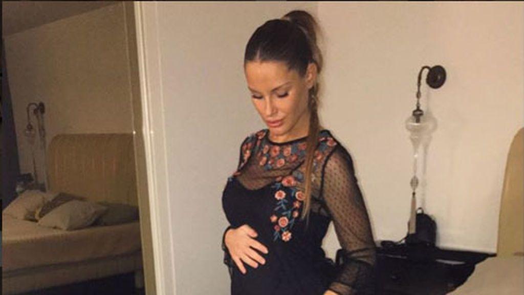 Confesiones de embarazo: Gala ha engordado ya 10 kilos