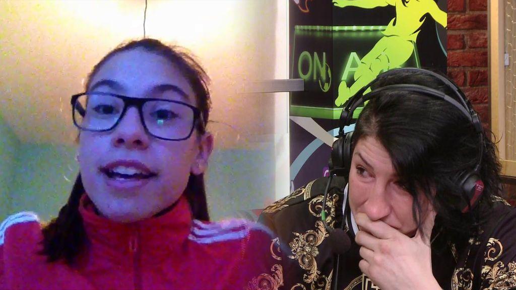 """Zayra, de 13 años, a su madre boxeadora y víctima de maltratos: """"Con el deporte me has enseñado a no rendirme"""""""
