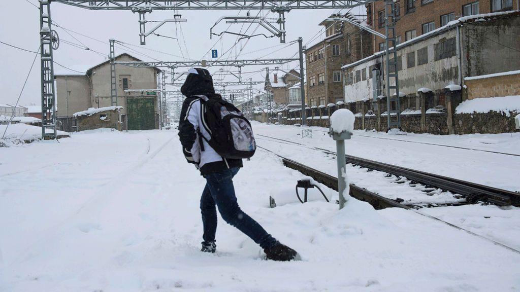 Alerta por nevadas y fuertes vientos este fin de semana en prácticamente toda la Península