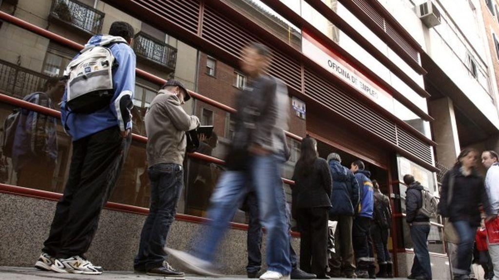 El paro sube en enero en 63.747 personas, un 1,9% más que el pasado año