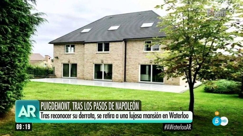 El interior de la nueva casa de Puigdemont en Waterloo, foto a foto