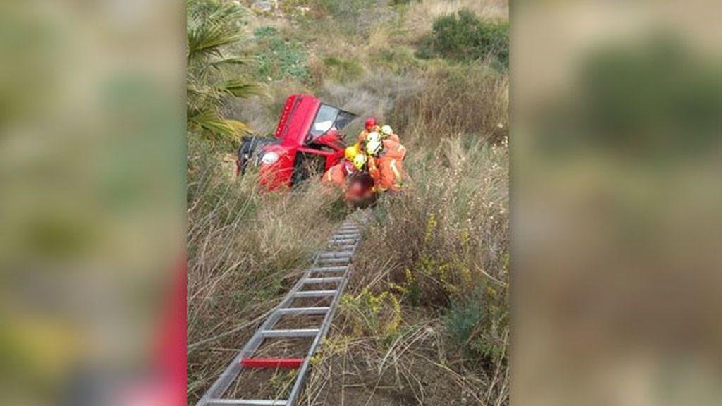 La mujer que se sacó el carné de conducir a los 84 años, cae por un barranco