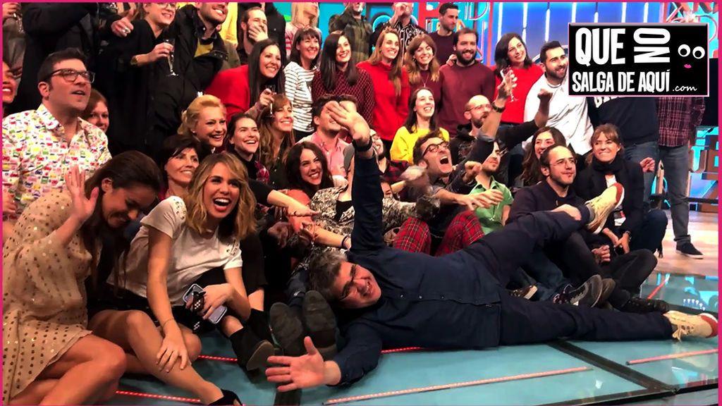El emocionado adiós a 'Dani y Flo' tras las cámaras después del programa