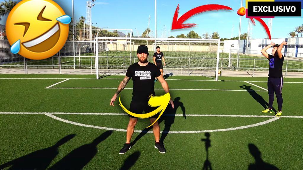 Remates de reacción con increíble 'reflex ball'
