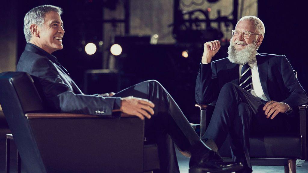 George Clooney desvela a David Letterman cómo conoció a Amal Alamuddin