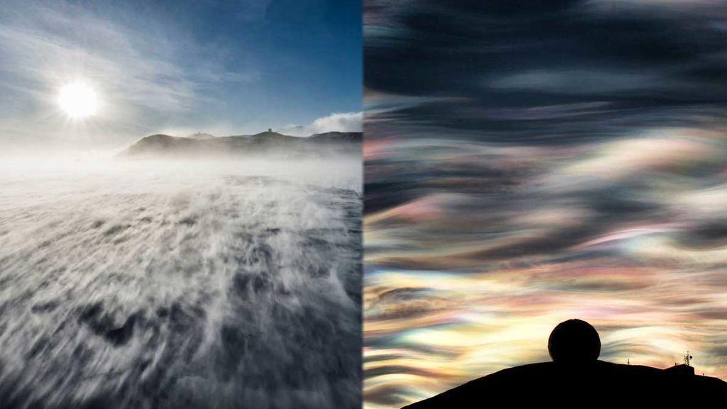 Los cinco fenómenos meteorológicos más característicos de las regiones polares