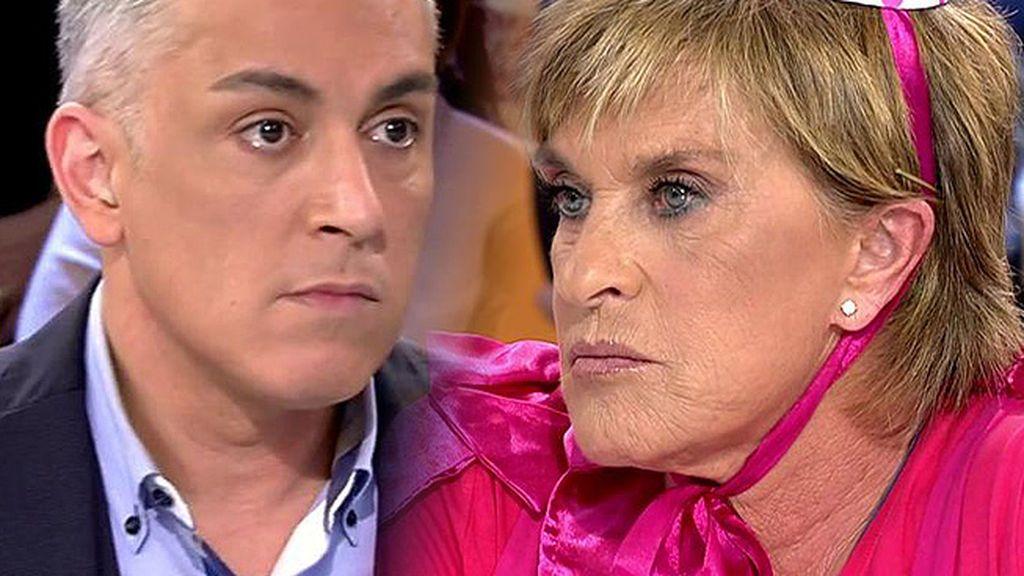 Chelo Gª Cortés se ha echado a llorar tras su último 'Diario Chè'
