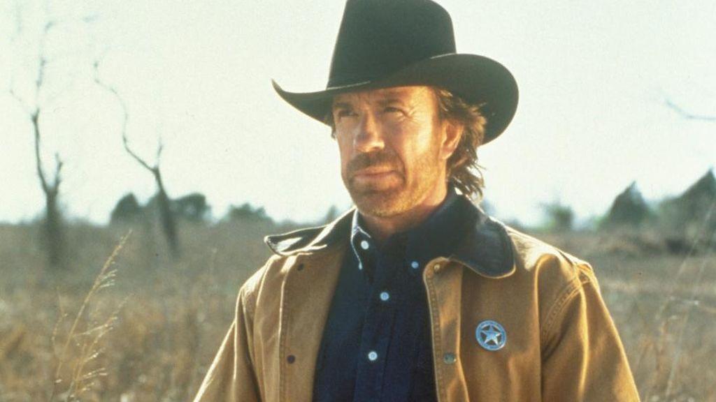 Chuck Norris, protagonista de 'Walker, Texas Ranger'.
