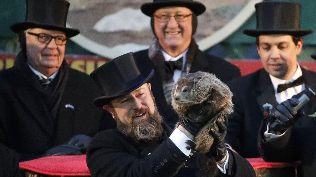 La marmota Phil ha hablado: según su pronóstico, habrá seis semanas más de frío