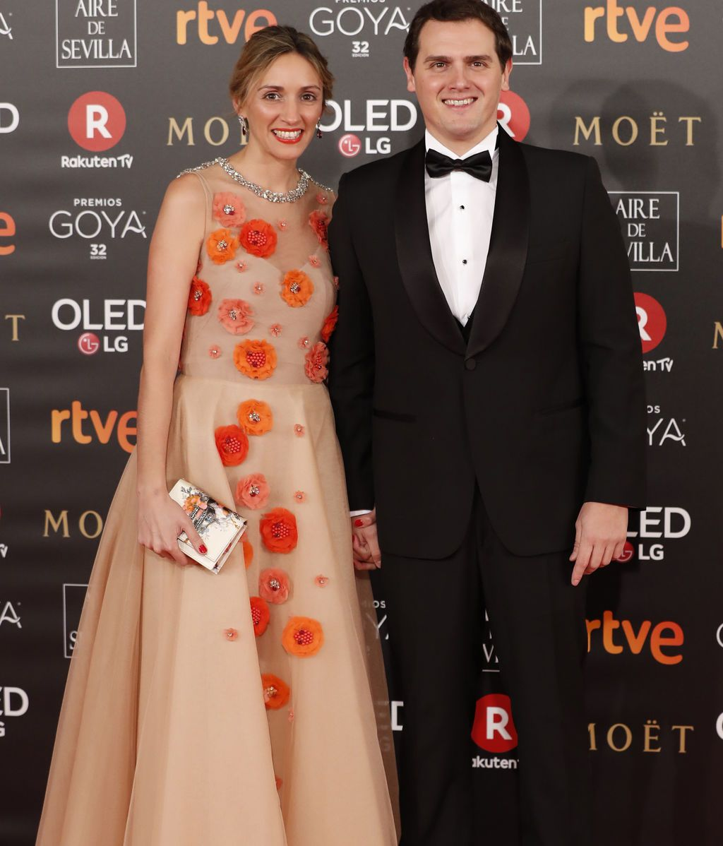 Albert Rivera y Beatriz Tajuelo