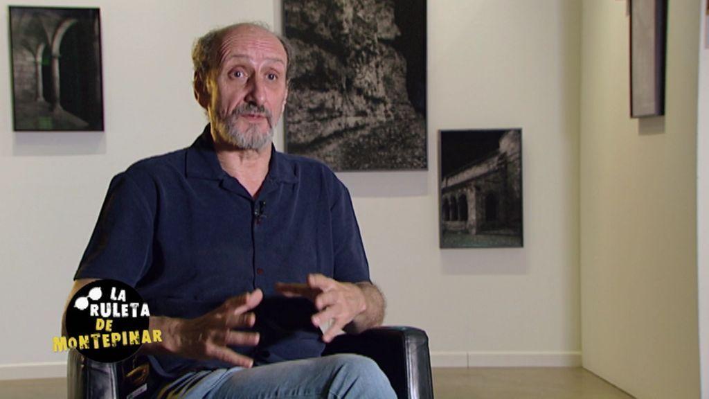 """José Luís Gil (Enrique Pastor): """"Amador es arrollador, siempre está a tope"""""""