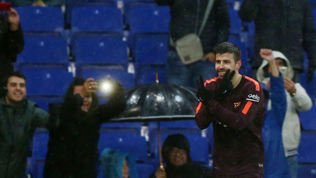 Crónica del RCD Espanyol - FC Barcelona, 1-1