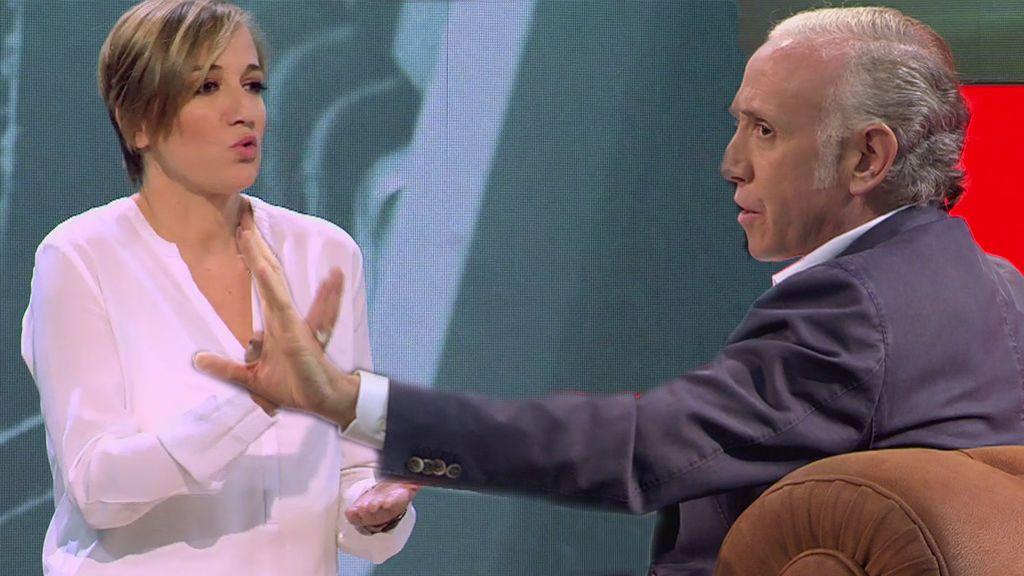 Eduardo Inda y Tania Sánchez: ni olvido ni perdón en su último cara a cara