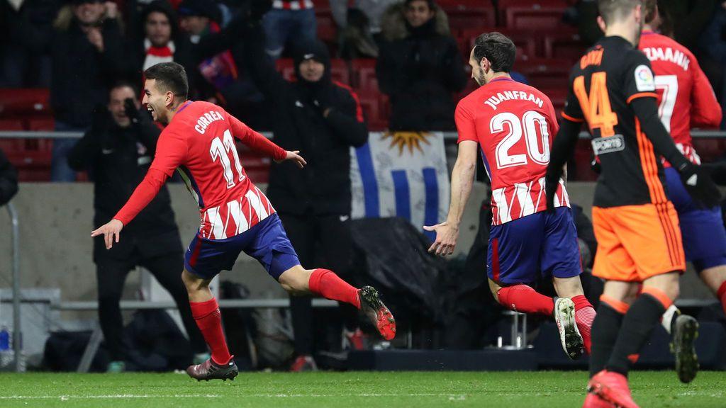 Crónica del Atlético de Madrid - Valencia, 1-0