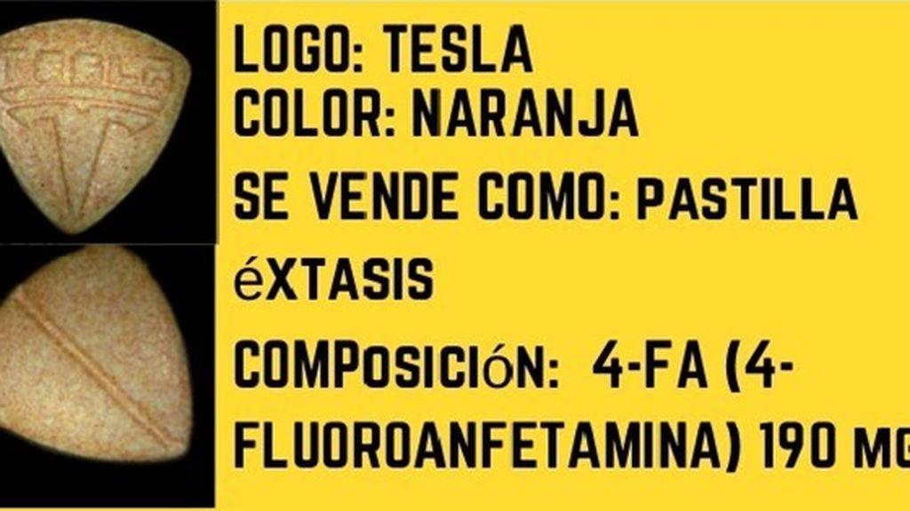 Detectan en Madrid pastillas tóxicas vendidas como éxtasis con el logo de Tesla
