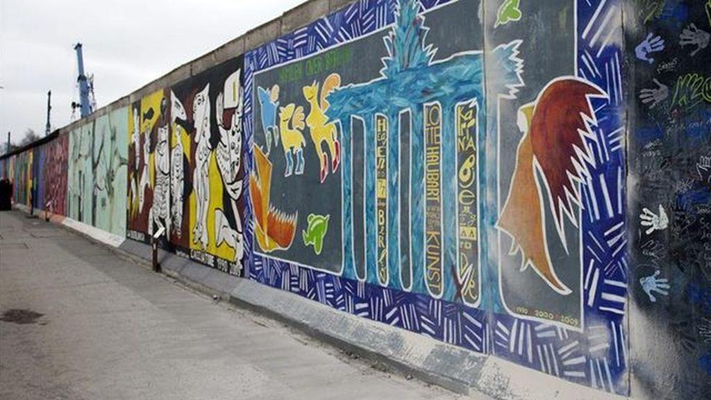 El Muro de Berlín cumple tantos días derribado como los que estuvo en pie