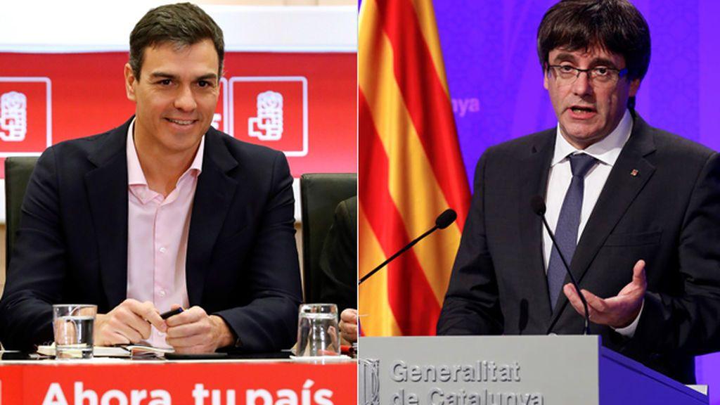 """Puigdemont: """"Querido Pedro, si quieres hablar de prófugo habla como mínimo con tu señor Mariano Rajoy"""""""