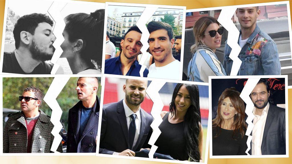Una ruptura por semana: Epiedia de separaciones de parejas de famosos en lo que llevamos de año