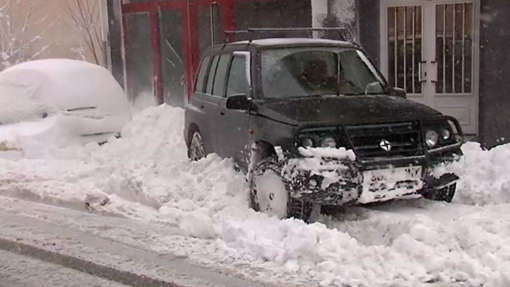 Fonsagrada, el pueblo de Lugo paralizado por la nieve