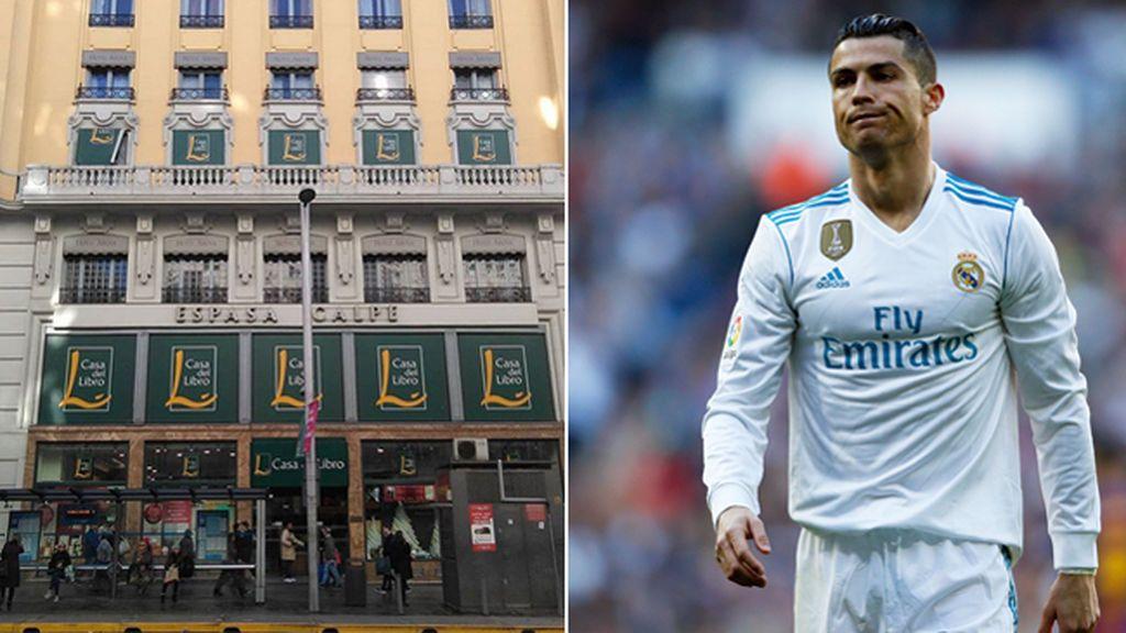 Cristiano Ronaldo compra el edificio de 'La Casa del Libro' de la Gran Vía de Madrid para hacer un hotel