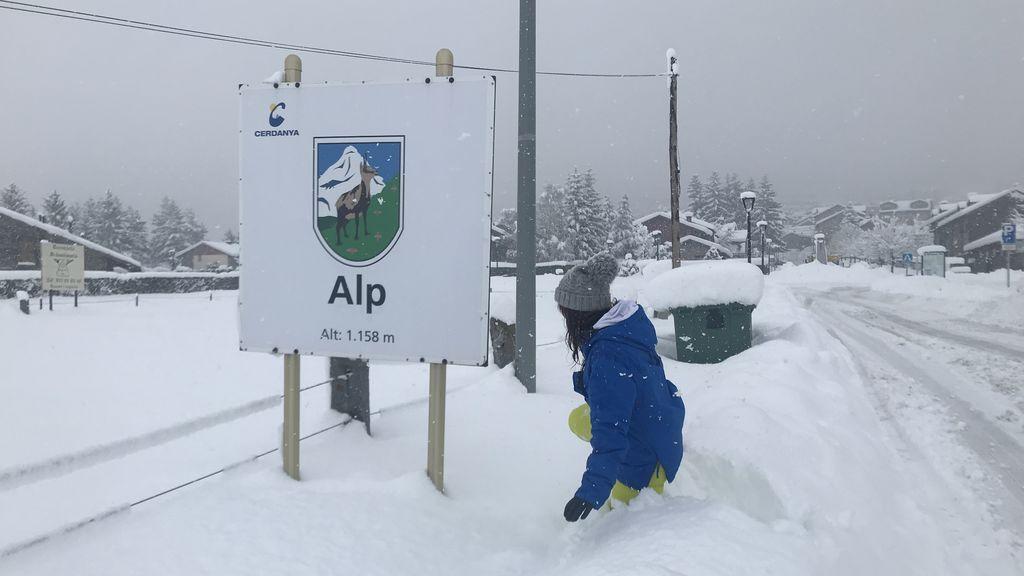 Mònica Cubells Porta en Alp, Gerona