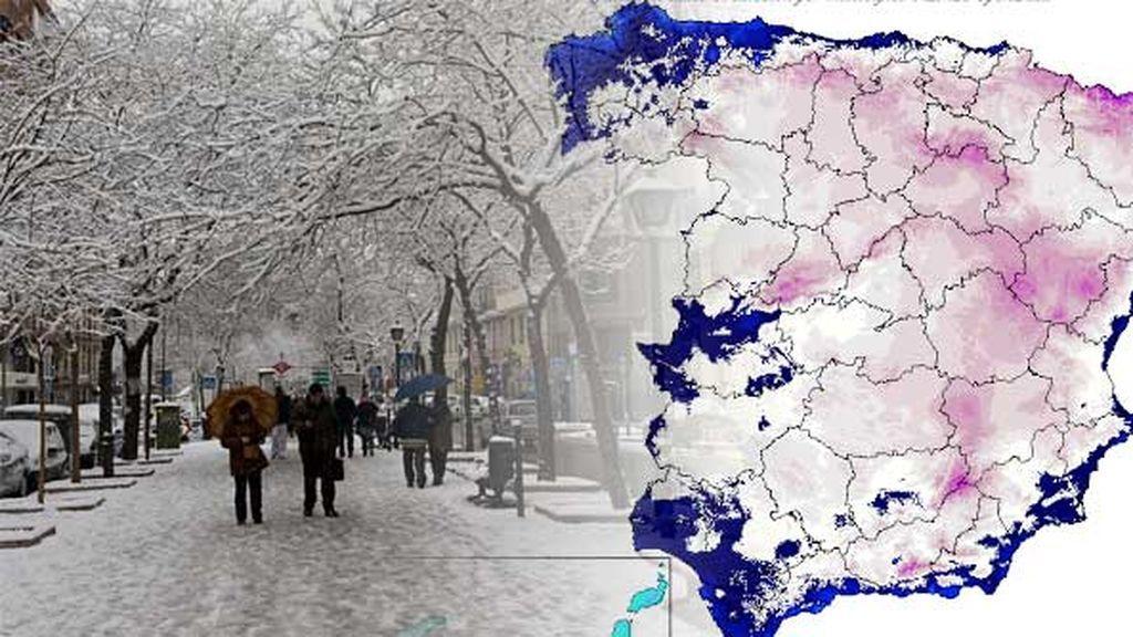Esto solo acaba de empezar: tras la nieve llega el frío... ¡mucho frío!