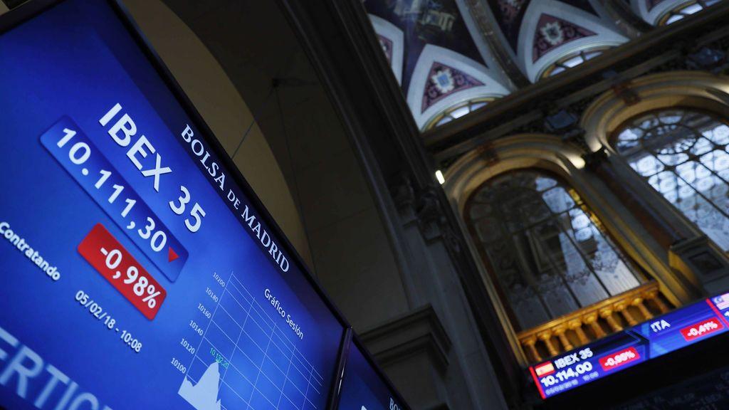 El Ibex cierra por debajo de los 9.900 por primera vez desde marzo tras caer un 2,53%